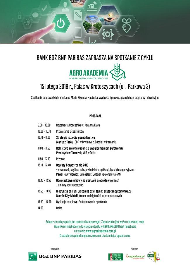 Agro Akademia 2018